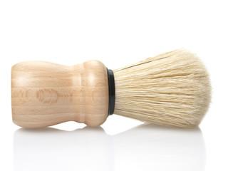 shaving brush isolated on white background