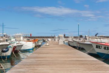 ponton du port de pêche de Saint-Leu, Réunion