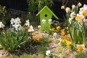 Décoration et fleurs de Pâques