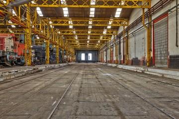 Old Industrial Interior
