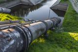 Scarico di un impianto di depurazione