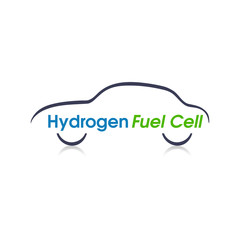 Hydrogen Fuel Cell Abstract Car