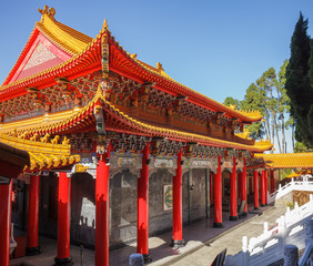 Wen Wu temple interior