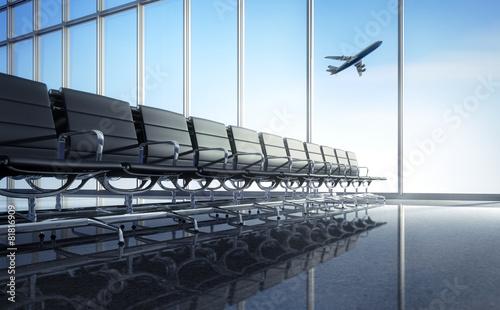 Airport Wartelounge - 81816909