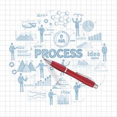 Sketch Business Concept