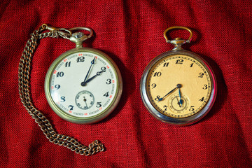 real antique pocket watch