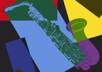 Saxophone psychédélique