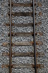 Railway tracks. Logistics, transport concept.