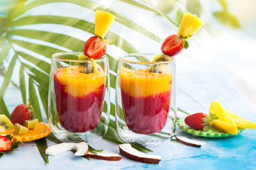 Exotic fruit smoothie