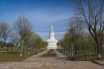 Roman monument in Adamclisi,  Constanta county - Romania