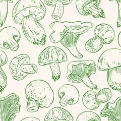 seamless mushrooms - 2