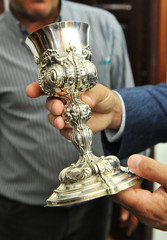 Silver Chalice, Spanish goldsmith
