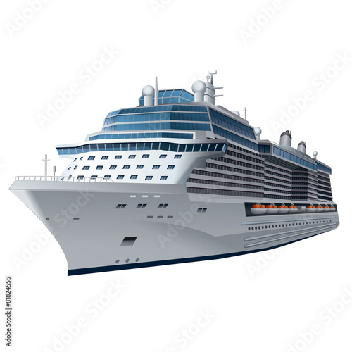Fototapeta cruise ship