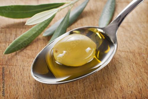 Leinwanddruck Bild Olive oil