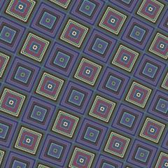 Retro mosaic tiles background