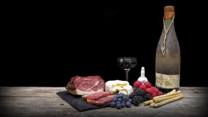 Wein & Käse & Schinken
