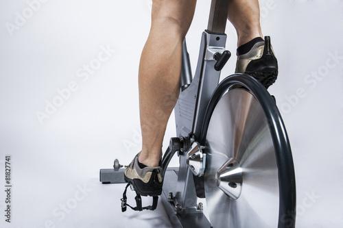 Foto op Plexiglas Fitness Spinning