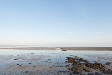 Wadden sea in Holland