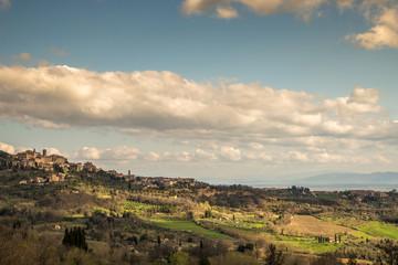 Village in Tuscany, Italy