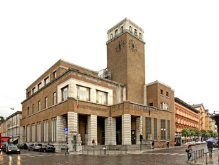 Main post office in Gorizia. Italy