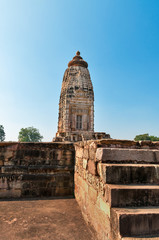 Parvati temple in  Khajuraho