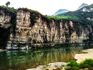 Beautiful landscape of unique nature in Shidu conservation area