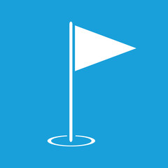 Hole Course white icon