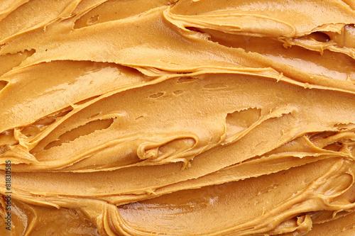 Leinwanddruck Bild peanut butter background