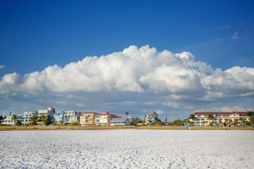 Lido Beach in Sarasota, Florida, on Siesta Key