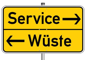Service Schild  #150419-03
