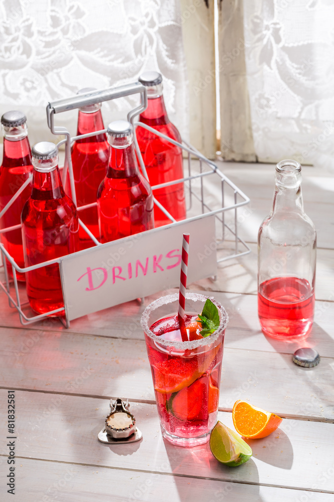 lato lemoniada napój - powiększenie