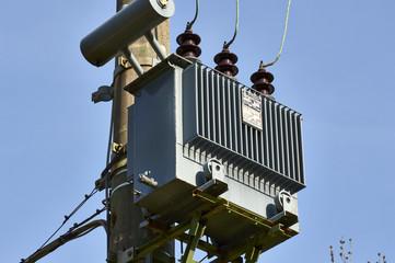 An electric transformer
