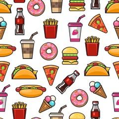 Fast food pattern 2