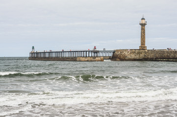 West Lighthouse Whitby Harbour