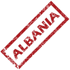 New Albania rubber stamp