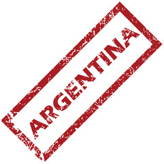 New Argentina rubber stamp