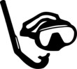 Diving Mask and snorkel - 81834708