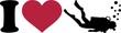 I heart scuba diving - 81834758