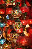 orientalische Lampen im Großen Basar in Istanbul