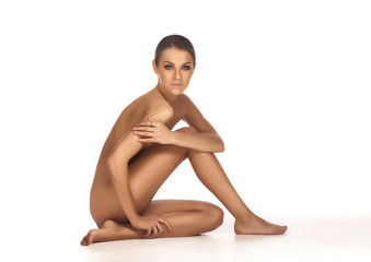 Naked beautiful woman.