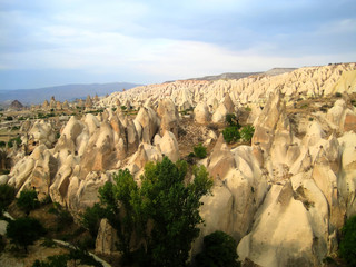 Fairy Chimneys in Cappadocia (Turkey)