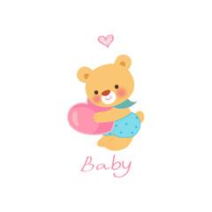 사랑스런 아기곰