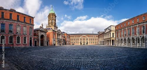 Poster Dublin Castle Courtyard