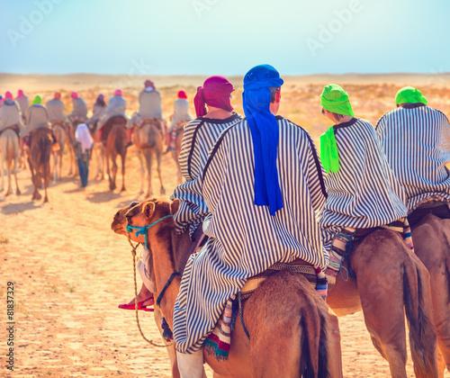 Poster Tunesië Sahara desert