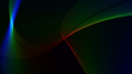 Abstract Wavy Soft Ligth Background
