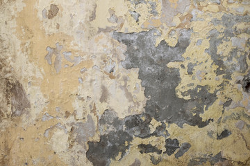 Grunge painted wall with place for copyspace
