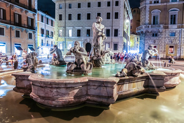 Moor Fountain in Rome
