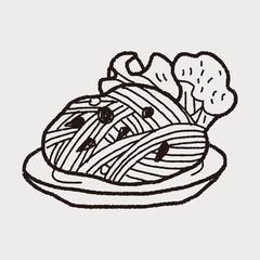 doodle pasta noodle