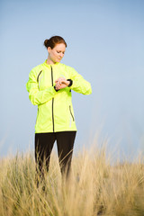 Outdoor Sports - Female Jogger