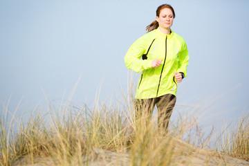 Active Woman Running